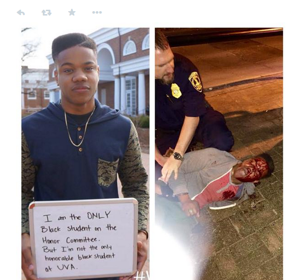 This is Martese Johnson, black student arrested for 'fake